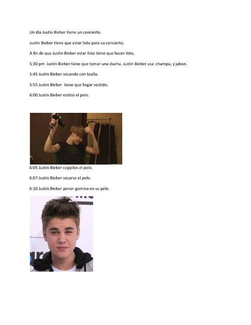 Justin Bieber Concierto