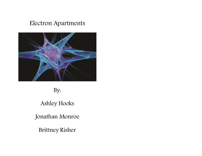 Electron Appartments Final Book