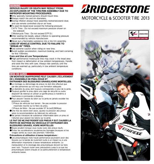 BRIDGESTONE MOTO