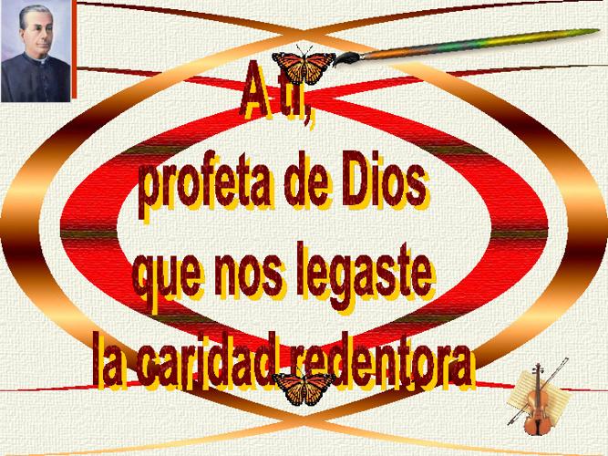 A tí, profeta de Dios