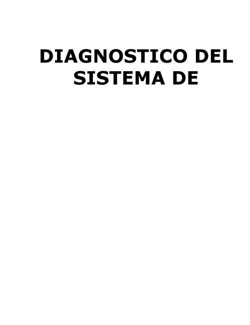 DIAGNOSTICO DE GESTIÓN