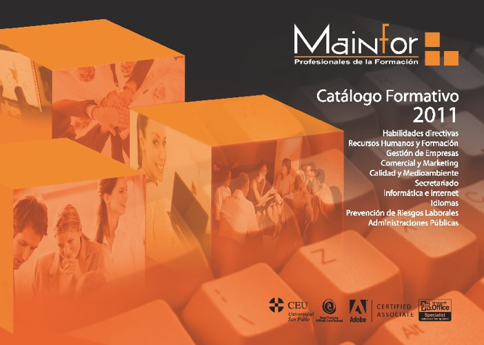 Copy of Catálogo Mainfor 2011