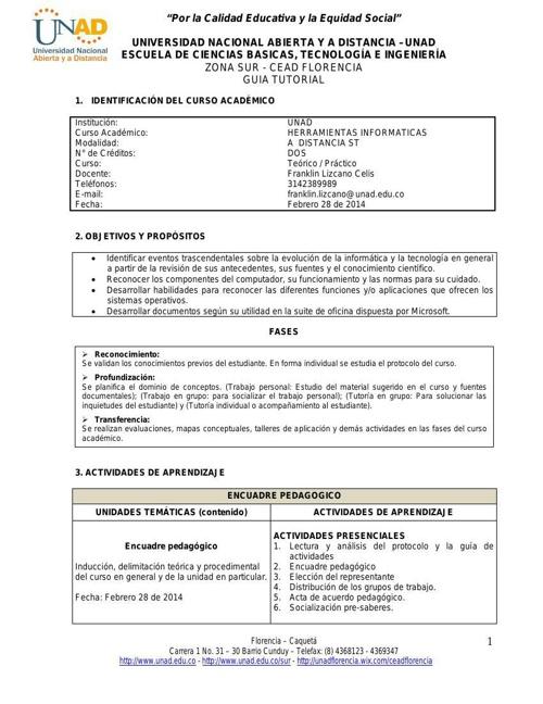 Guia Herramientas Informaticas 2014-I