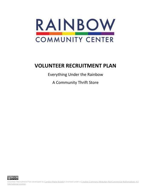 Volunteer Recruitment Toolkit