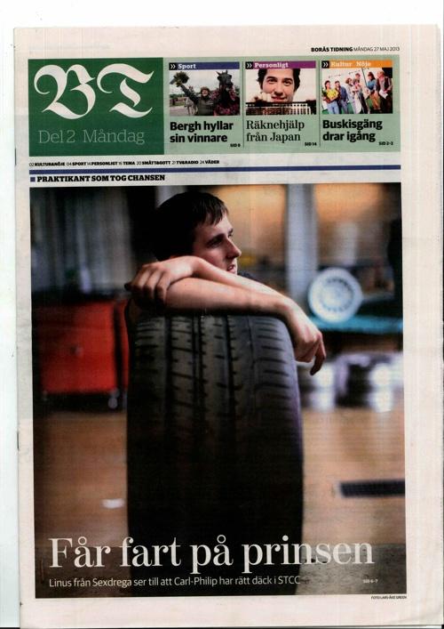 Copy of SMART Akademi i Borås Tidning