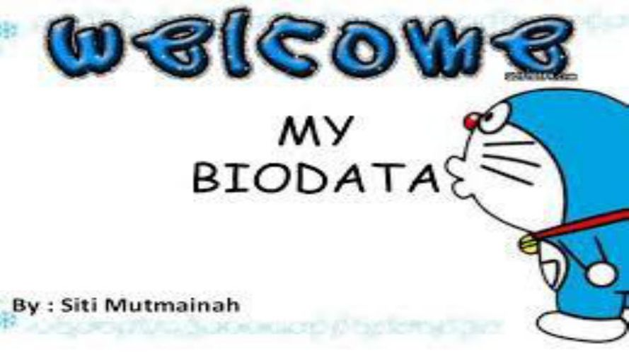 ~My BiOdAtA~