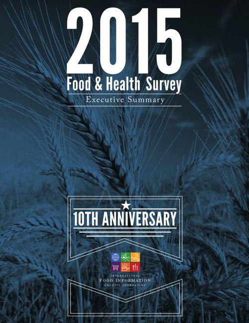 2015 Food And Health Survey- Executive Summary - Final