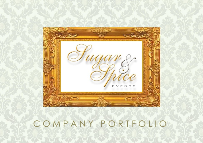 Sugar & Spice Events Company Portfolio