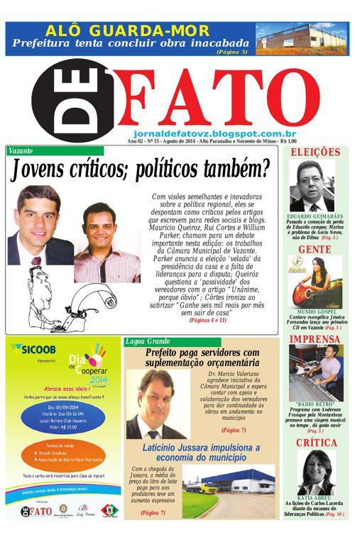Jornal De Fato 15ª Edição