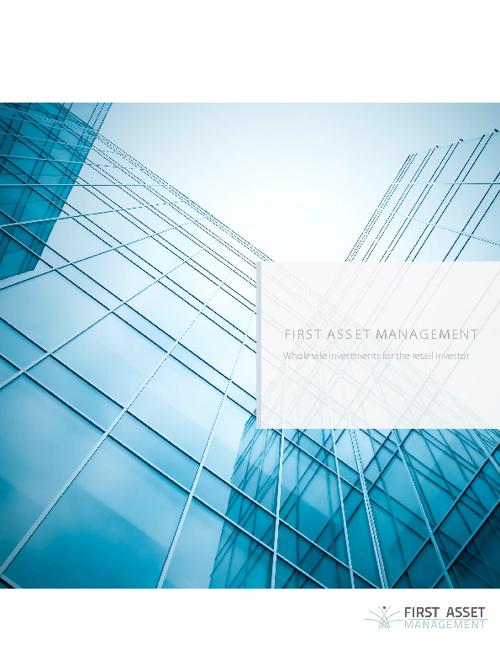 First Asset Management