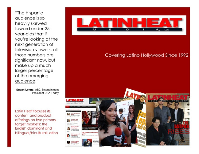 LatinHeat Media Kit