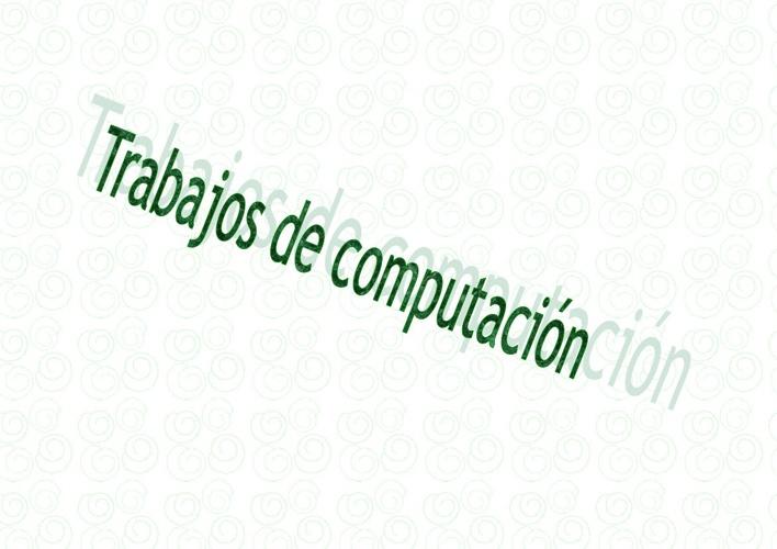 portafolio de computacion