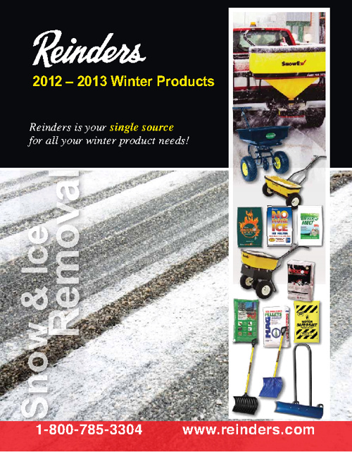 Reinders 2012-13 Winter Products