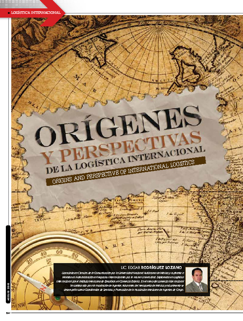 Origenes y Perspectivas de la Logistica Internacional