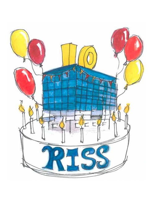 RISS 10th Anniversary Card