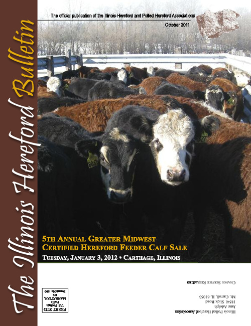 Illinois Hereford Bulletin Fall 2010
