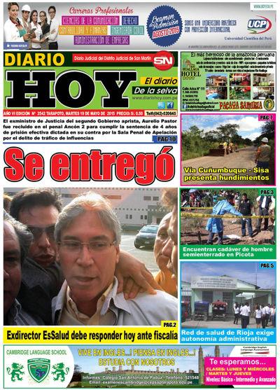 DIARIO HOY DIGITAL 19 DE MAYO...NOTICIAS