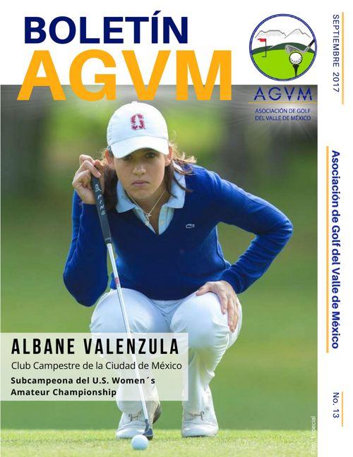 Boletín AGVM · No. 13 · Septiembre · 2017