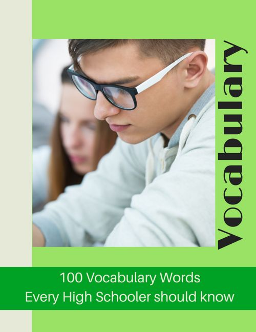 High School 100 Words Vocabulary - Complete unit - CHSH - Teach