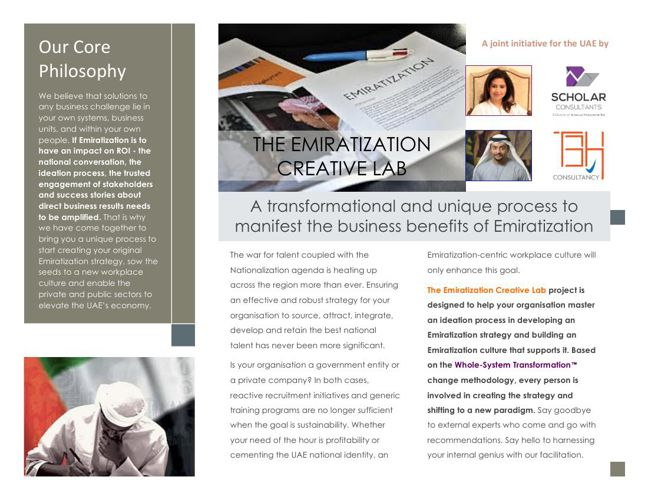 Emiratization for Business Benefits