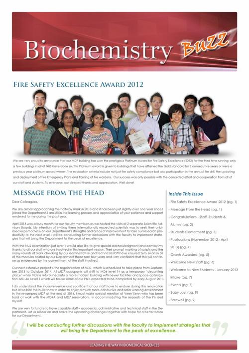 Biochemistry Buzz V16