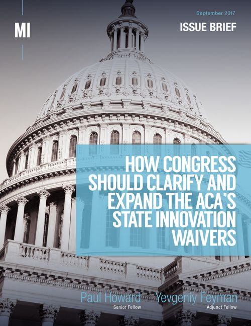 How Congress Should Clarify the ACA State Innovaton Waivers