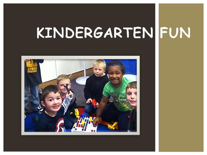 Kindergarten Fun a.m.