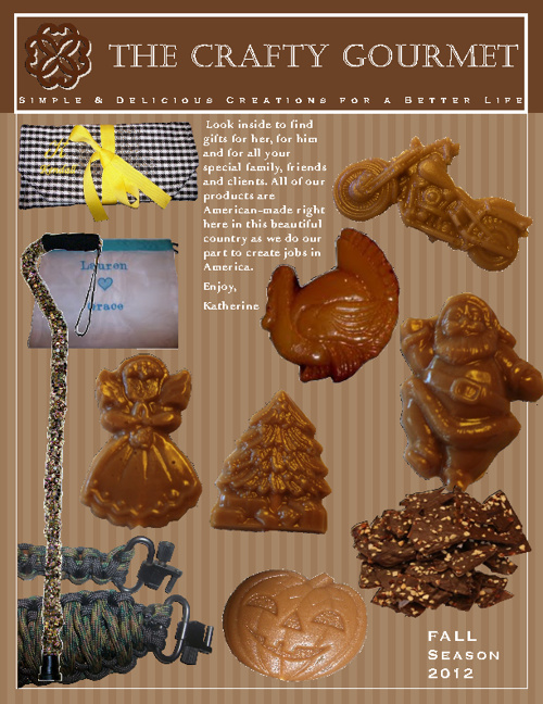 The Crafty Gourmet Fall Catalog 2012