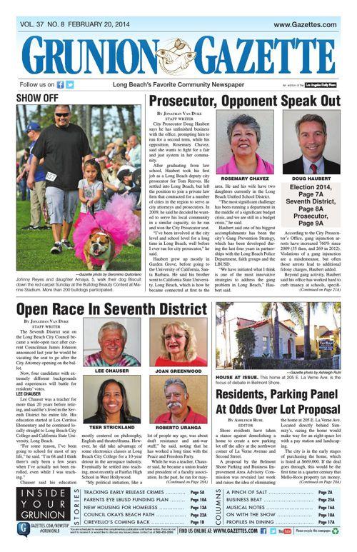 Grunion Gazette | February 20, 2014