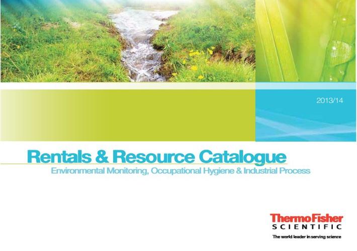 Rentals Catalogue 2013-14