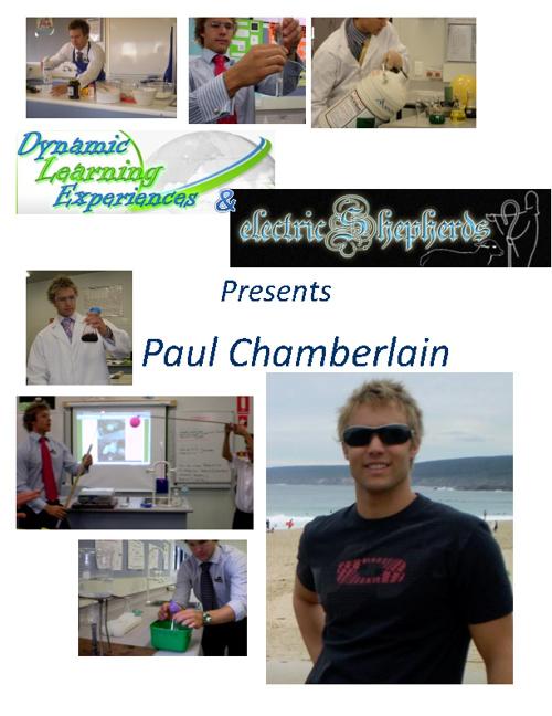 Paul Chamberlain's Curriculum Vitae