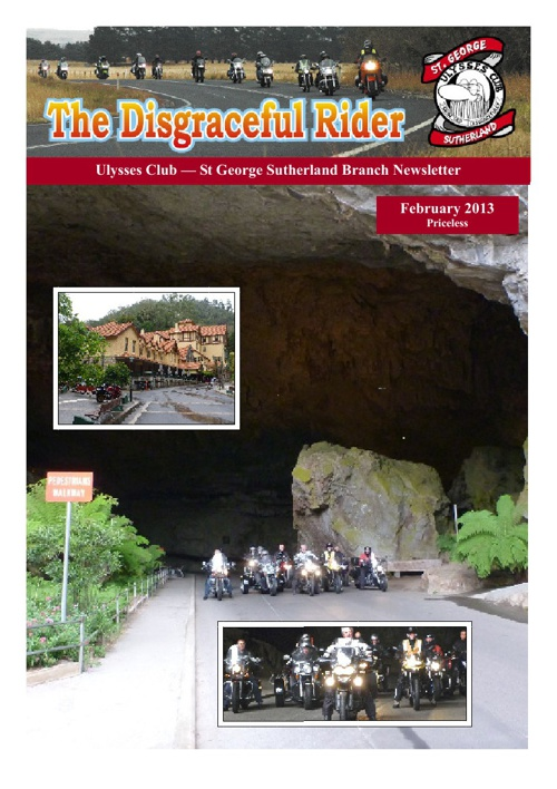The Disgraceful Rider February 2013