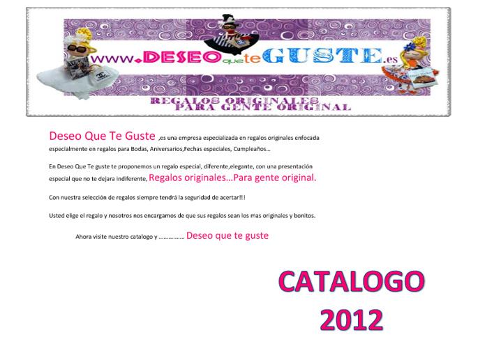 Copy of Deseo que te Guste.es