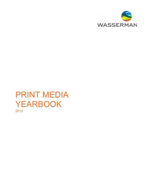 2012 Print Media Yearbook