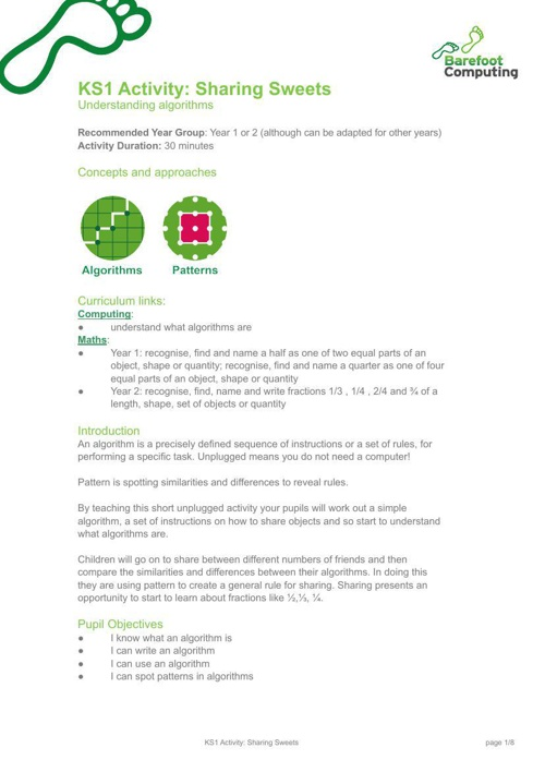 KS1-Sharing-Sweets-Algorithms-Activity-Barefoot-Computing2