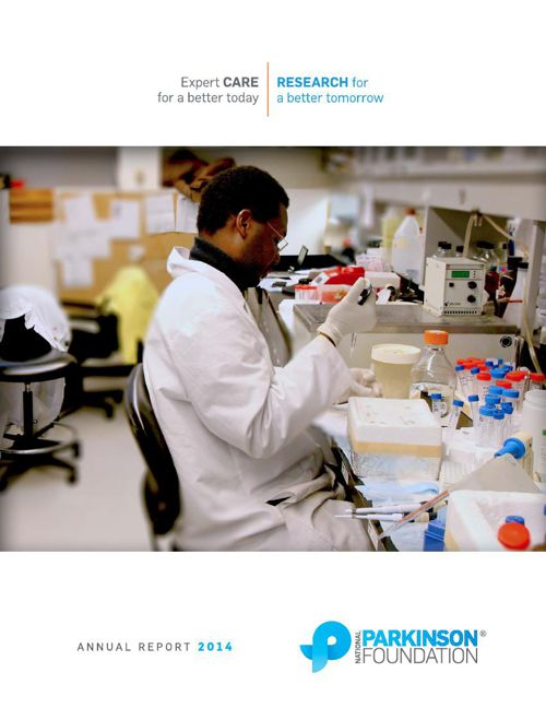 National Parkinson Foundation 2014 Annual Report