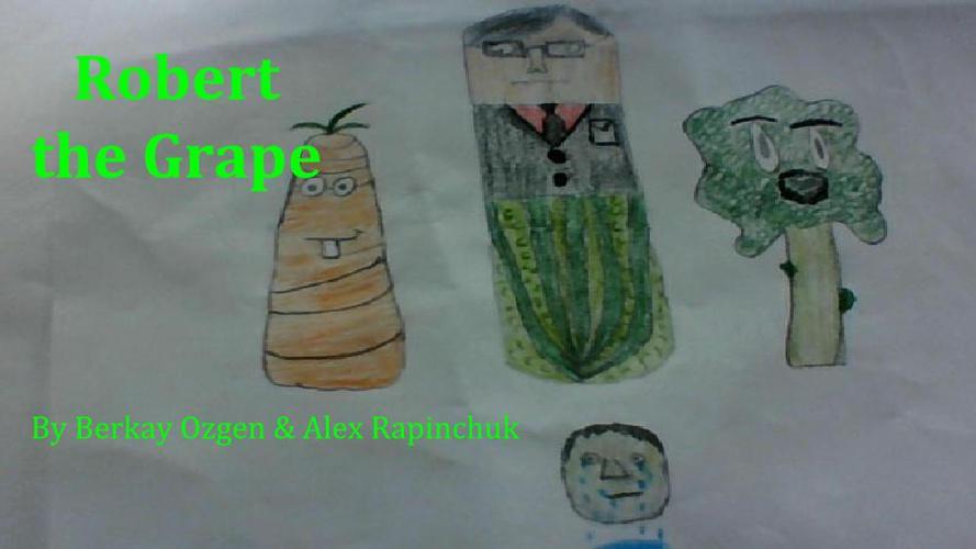 Children's Book_Robert the Grape