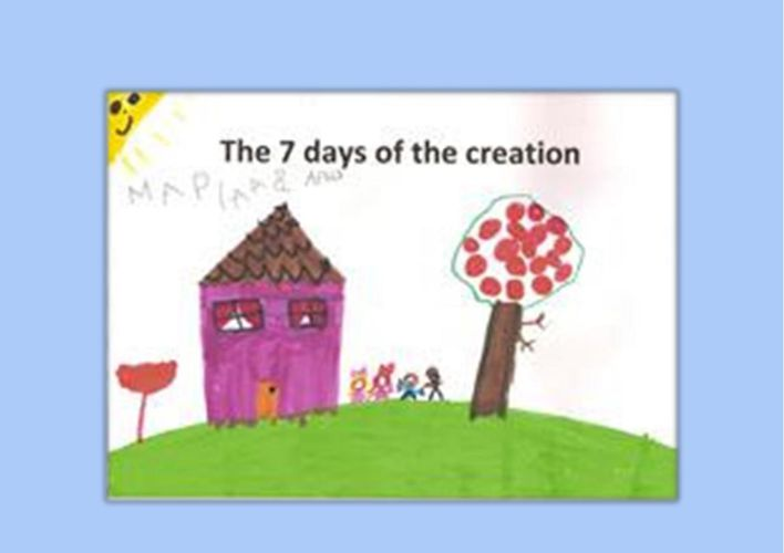 7 days creation-3rd Kindergarten of Veria,Greece