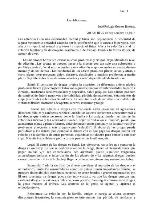 Refu Gomez 2°D Texto Argumentativo