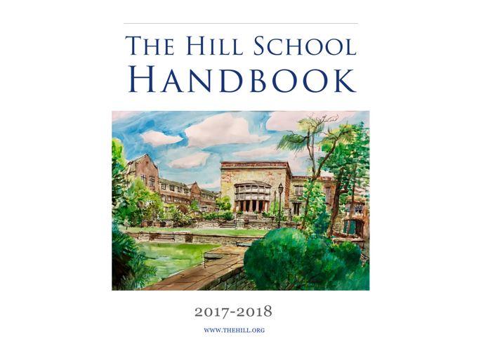 The Hill School Handbook 2017-18