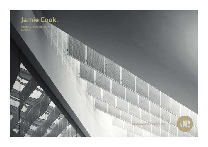 Jamie Cook - Selected Works & Concepts 2005 - 2013