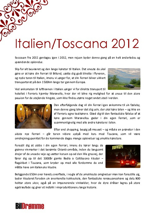 Italien/Toscana 2012