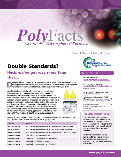 PolyFacts Volume 7, No. 1 - June 2012