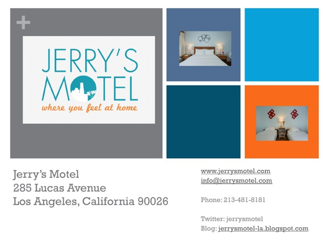 Jerry's Motel - Downtown Los Angeles