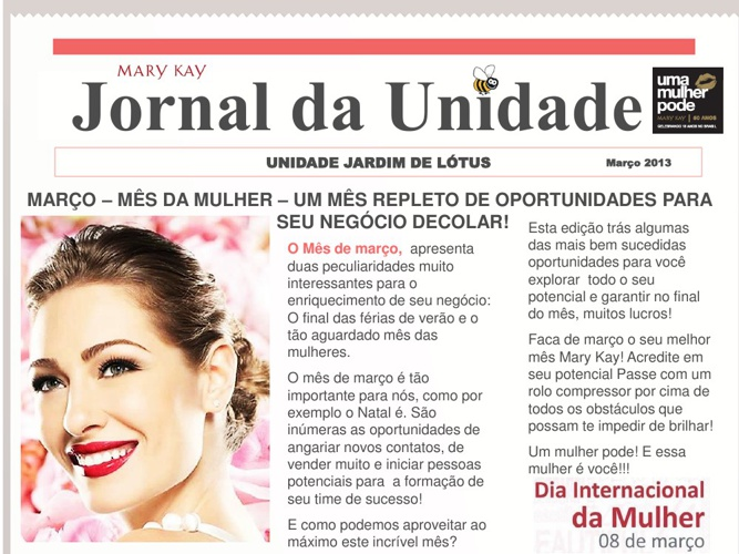 Jornal da Unidade Jardim de Lótus