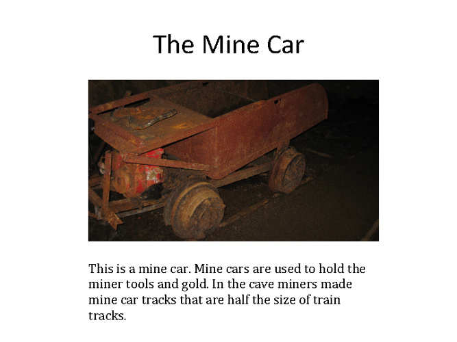 Matthew's Mining Facts