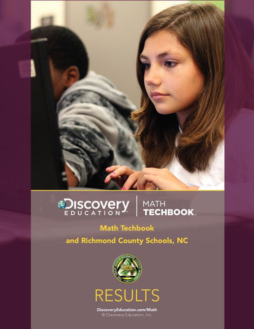 Math Techbook - Richmond County Results