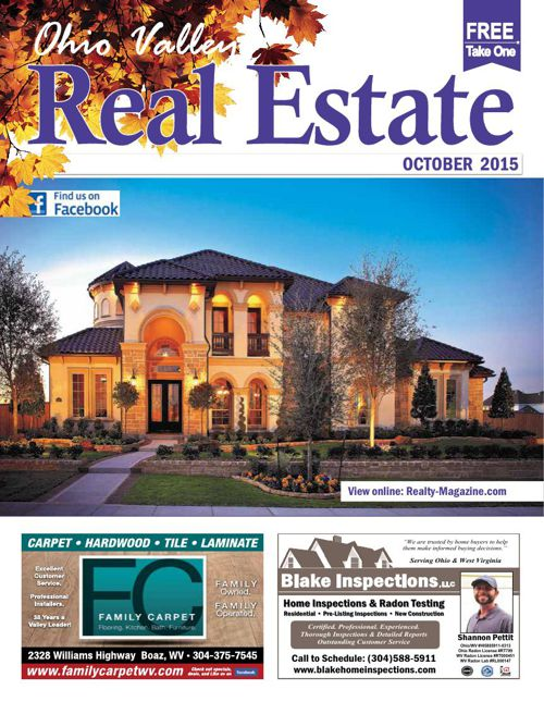 Ohio Valley Real Estate Magazine - Parkersburg, WV Marietta, OH