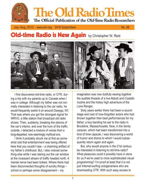 Old Radio Times