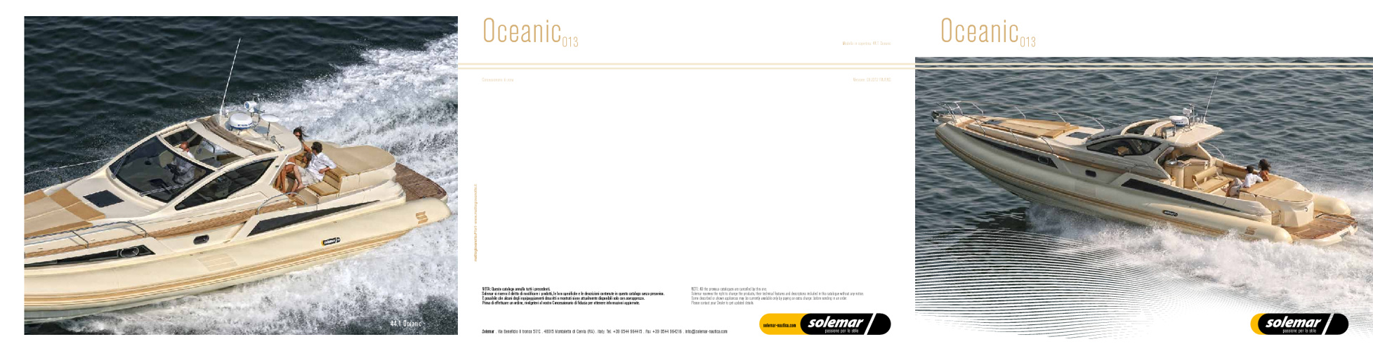 "2013 Solemar Nautica ""OCEANIC LINE"""